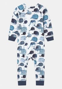 Walkiddy - BABY WHALES UNISEX - Pyjamas - white - 1