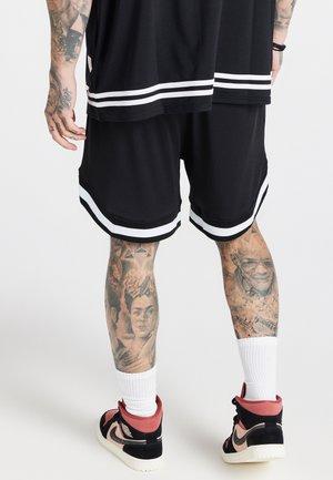 AOKI BASEBALL - Shorts - black/white