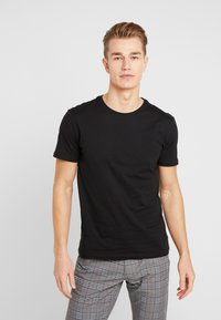 Pier One - 5 PACK - T-shirts basic - black - 2