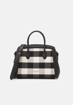 MEDIUM SATCHEL - Handbag - black multi