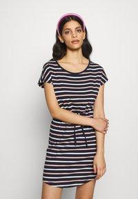 ONLY Petite - ONLMAY LIFE DRESS 2 PACK - Jersey dress - night sky/multi misty - 1