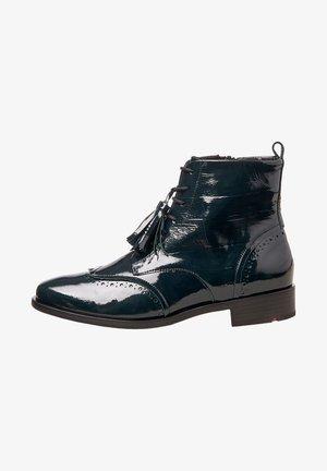 Cowboy/biker ankle boot - grün