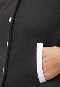 Urban Classics - Bomber Jacket - black/white - 5