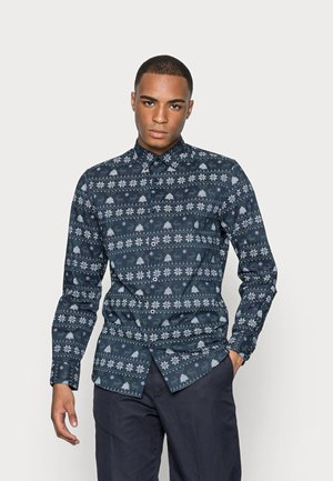 SLHSLIMJINGLE - Shirt - navy blazer
