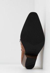 Shoe The Bear - ARIETTA - Cowboy/biker ankle boot - brown - 6