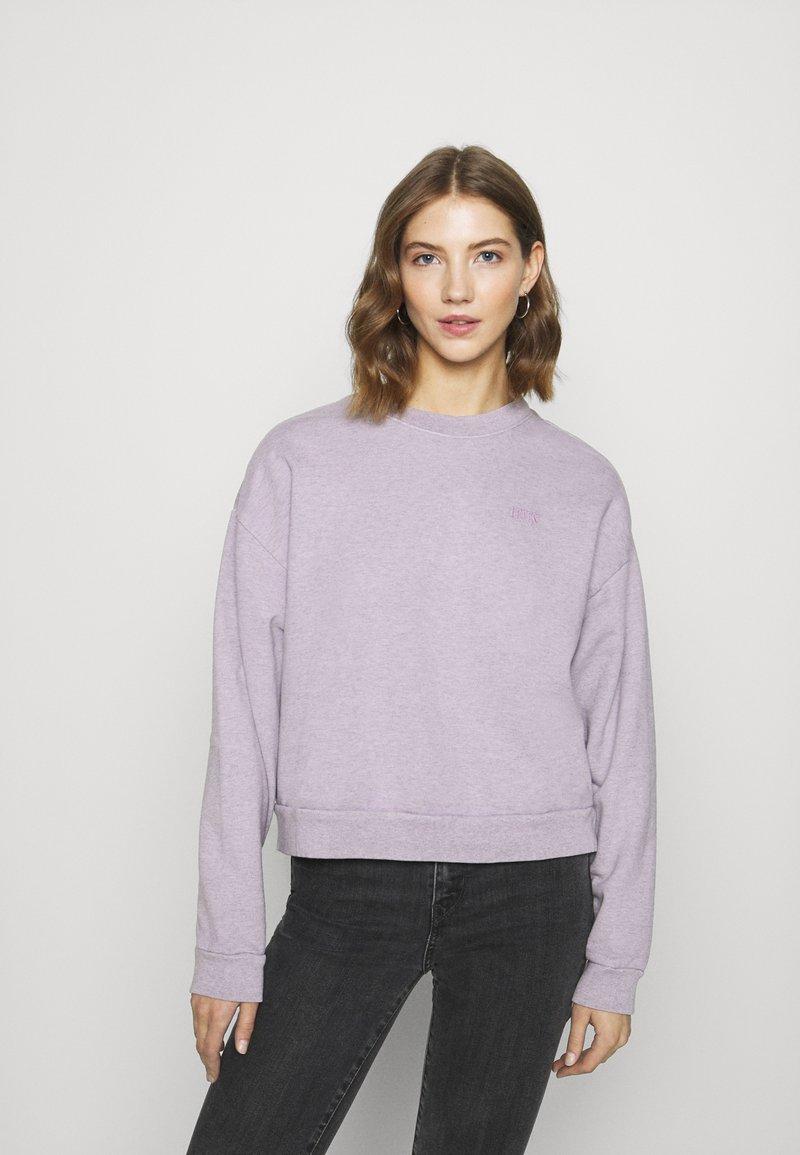 Levi's® - DIANA CREW - Sweatshirt - heather lavender frost garment