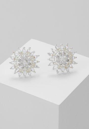 JUDITH EAR - Earrings - silver-coloured/clear