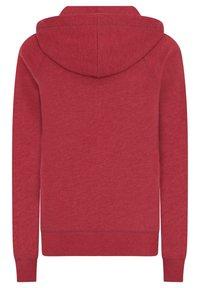 AÉROPOSTALE - Zip-up hoodie - red - 5