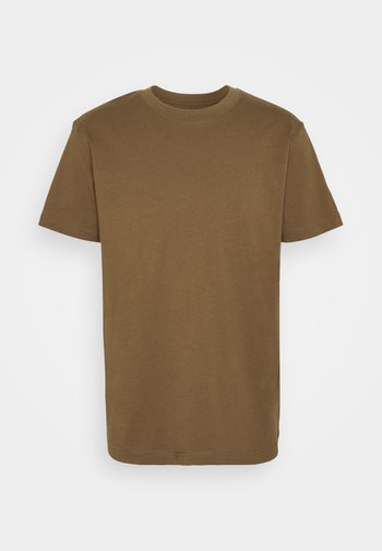 RELAXED - T-shirt - bas - brown