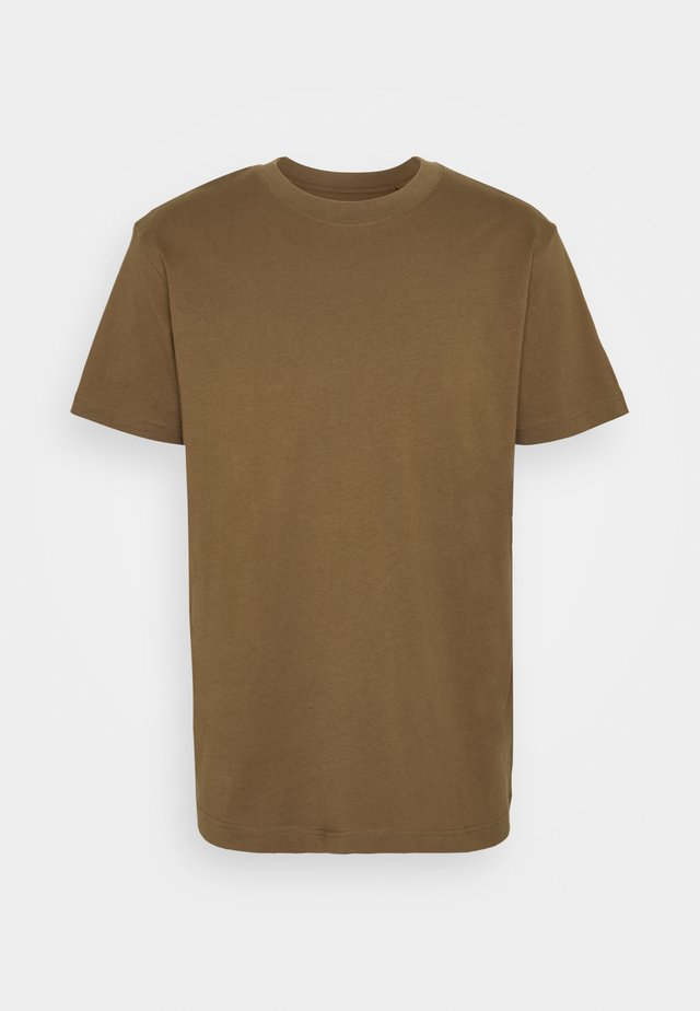 RELAXED - Basic T-shirt - brown