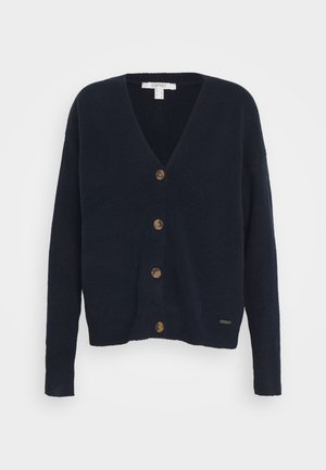 BUTTON CARDI - Cardigan - navy