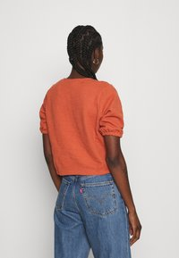 Madewell - PANETONNE  - Print T-shirt - afterglow red - 2