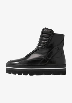 HILL STREET - Cowboy/biker ankle boot - black