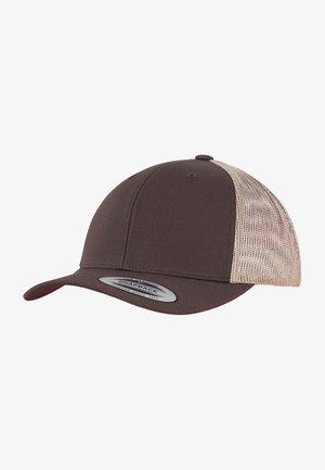 TRUCKER  - Cap - brn/khaki