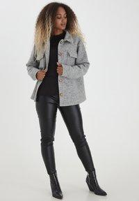 b.young - Summer jacket - light grey melange - 1