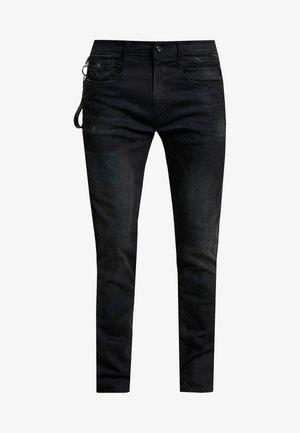 ANBASS MAESTRO - Jean slim - black
