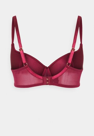 ENCORE SWEETHEART DEMI PADDED BRA - Sujetador básico - red