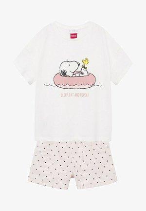 SNOOPY - Pyjamas - blanc cassé