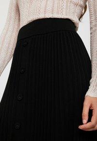 Forever New - PLEATED SKIRT - A-line skirt - black - 4