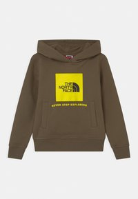 The North Face - BOX HOODIE UNISEX - Sweatshirt - khaki - 0
