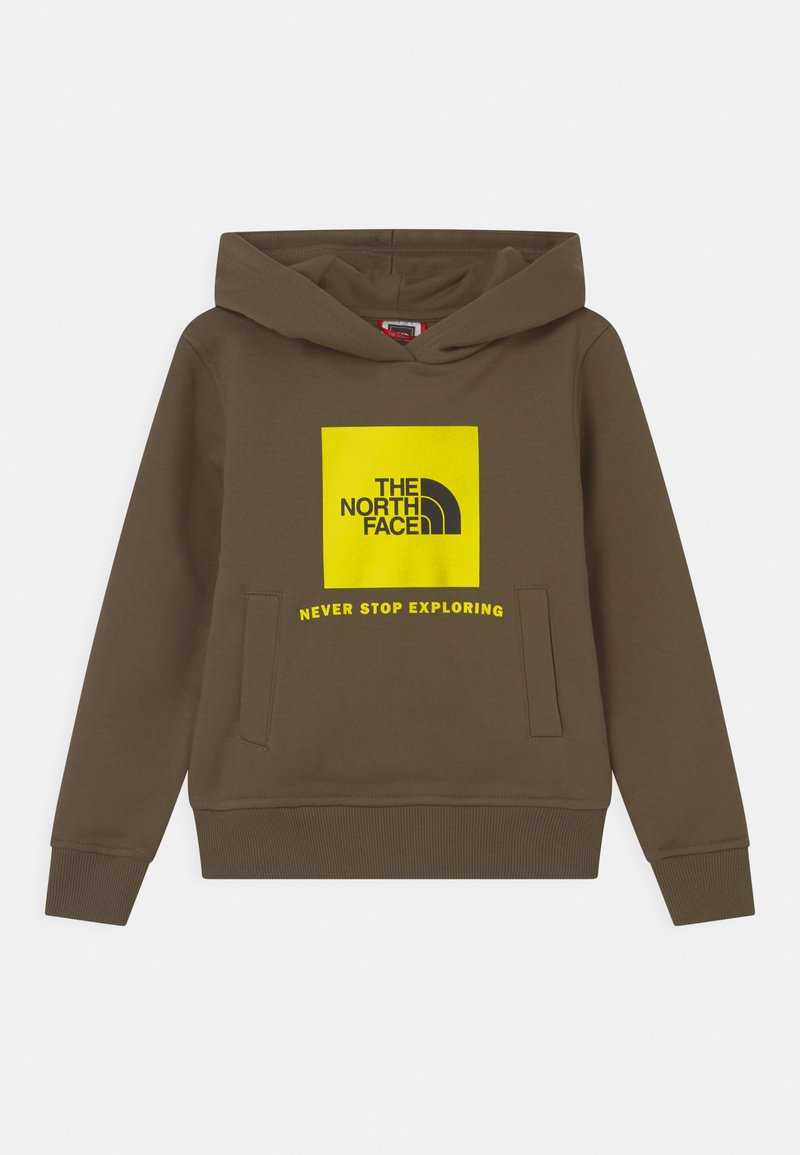 The North Face - BOX HOODIE UNISEX - Sweatshirt - khaki