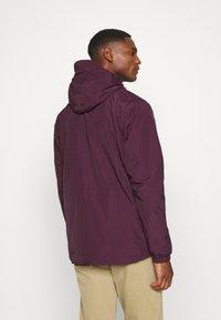 Lyle & Scott - ZIP THROUGH HOODED JACKET - Summer jacket - burgundy - 2