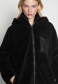 ONLY - ONLSASCHA JACKET - Winter coat - black - 4