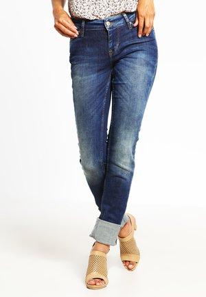 JASMIN - Slim fit jeans - dark used