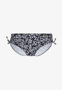 LASCANA - PANTS ADJUSTABLE - Bikini bottoms - black - 3