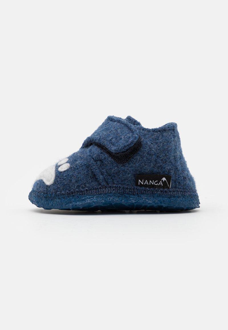 Nanga - POLAR BEAR UNISEX - Slippers - blau