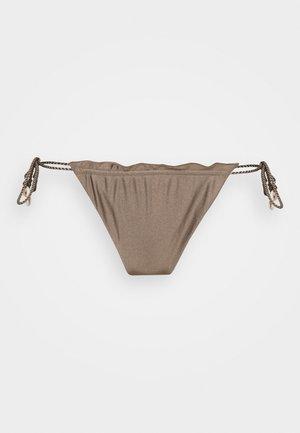 ALESSANDRA HIGHLEG - Bikini bottoms - mineral green
