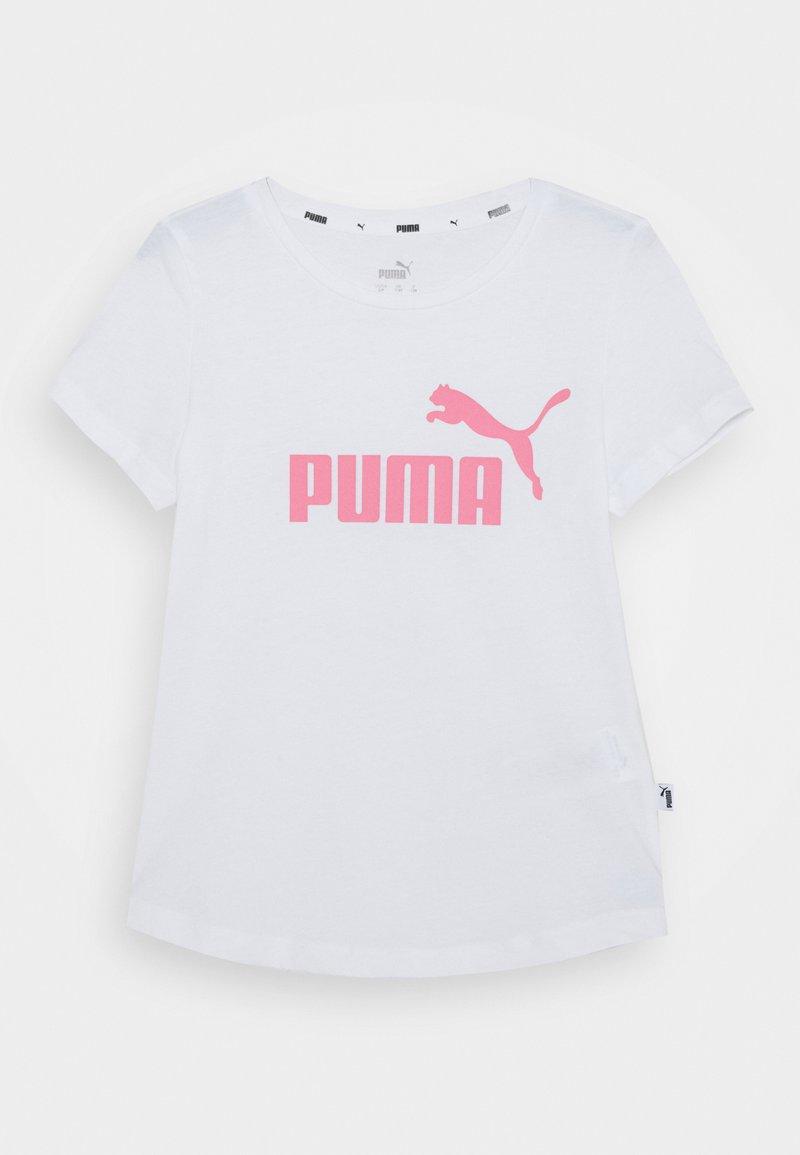 Puma - TEE - T-shirt z nadrukiem - bubblegum pink/white