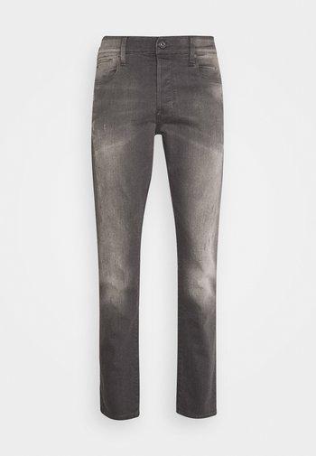 3301 STRAIGHT TAPERED - Straight leg jeans - slander grey  superstretch