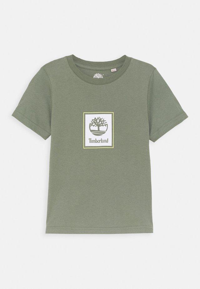 SHORT SLEEVES TEE - Print T-shirt - green