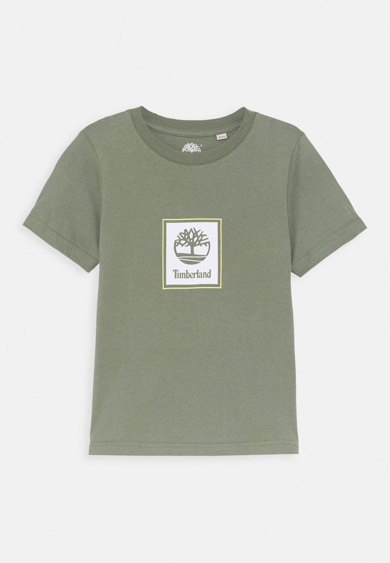 Timberland - SHORT SLEEVES TEE - Print T-shirt - green