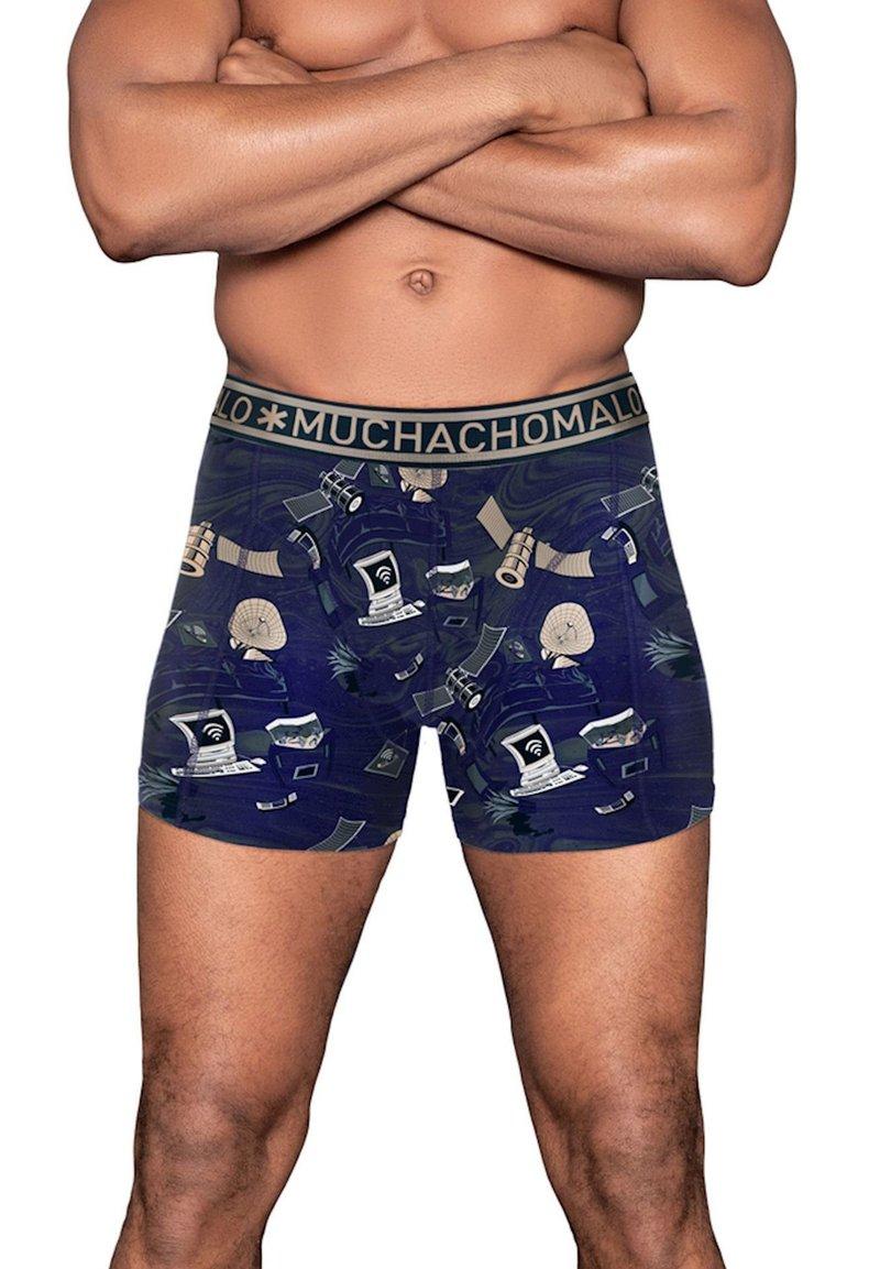 MUCHACHOMALO - Pants - blue