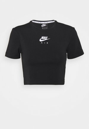 AIR - T-shirts med print - black/white