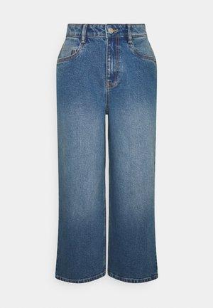 NMGIGI - Flared Jeans - medium blue denim