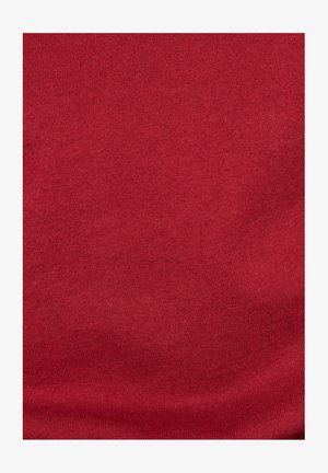 RAW. GRAPHIC SLIM ROUND SHORT SLEEVE - Print T-shirt - dry red