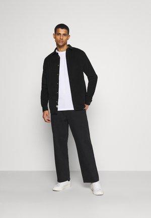 5 PACK  - T-shirt basic - black/white