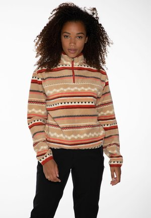 BRITT - Fleece jumper - tortilla
