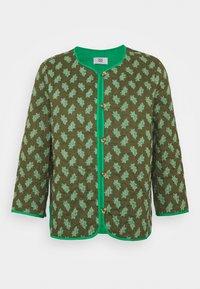 Veste mi-saison - print green