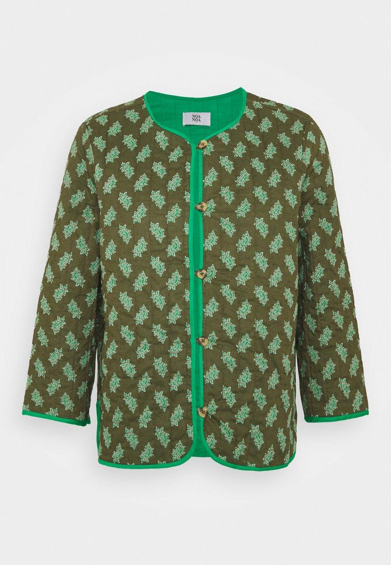 Noa Noa - Lehká bunda - print green