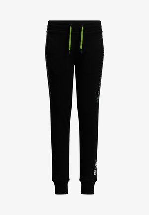 SALTY DOG - Tracksuit bottoms - black