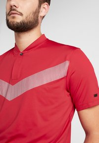 Nike Golf - TIGER WOODS DRY VAPOR REFLECT POLO - T-shirt med print - gym red/black - 4