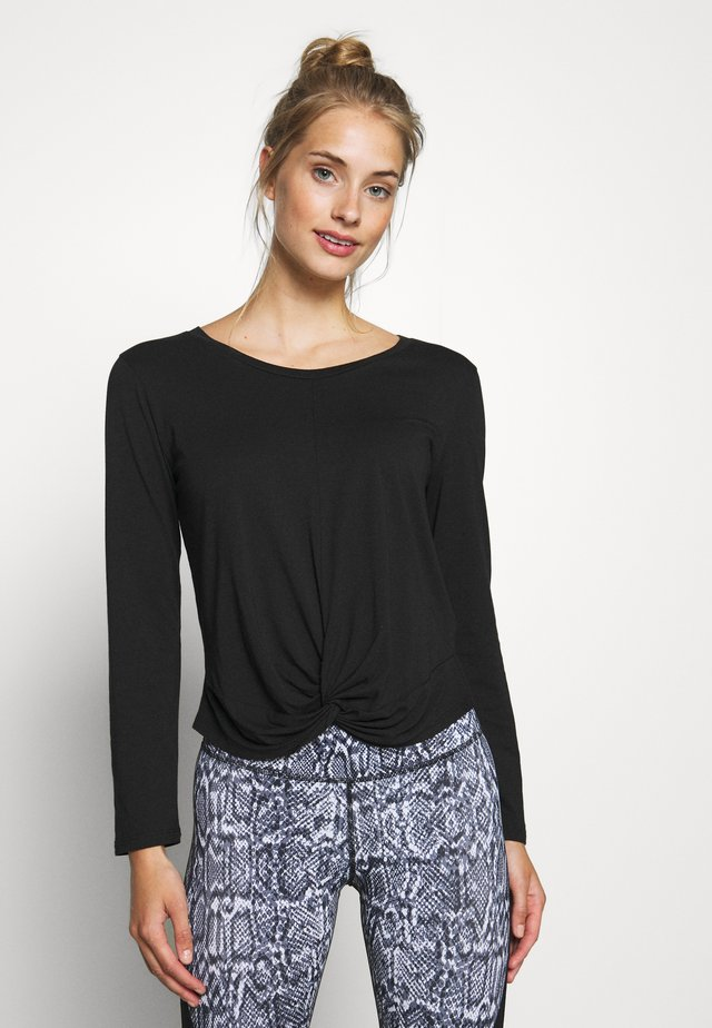 NAMASKHAR - Long sleeved top - black
