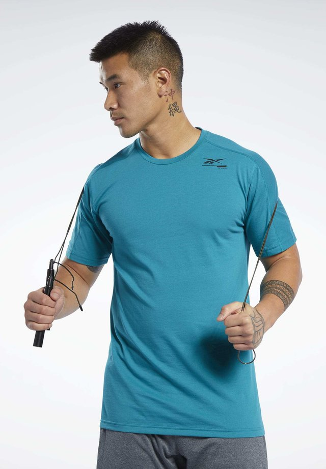 SPEEDWICK MOVE TEE - T-shirt print - seaport teal