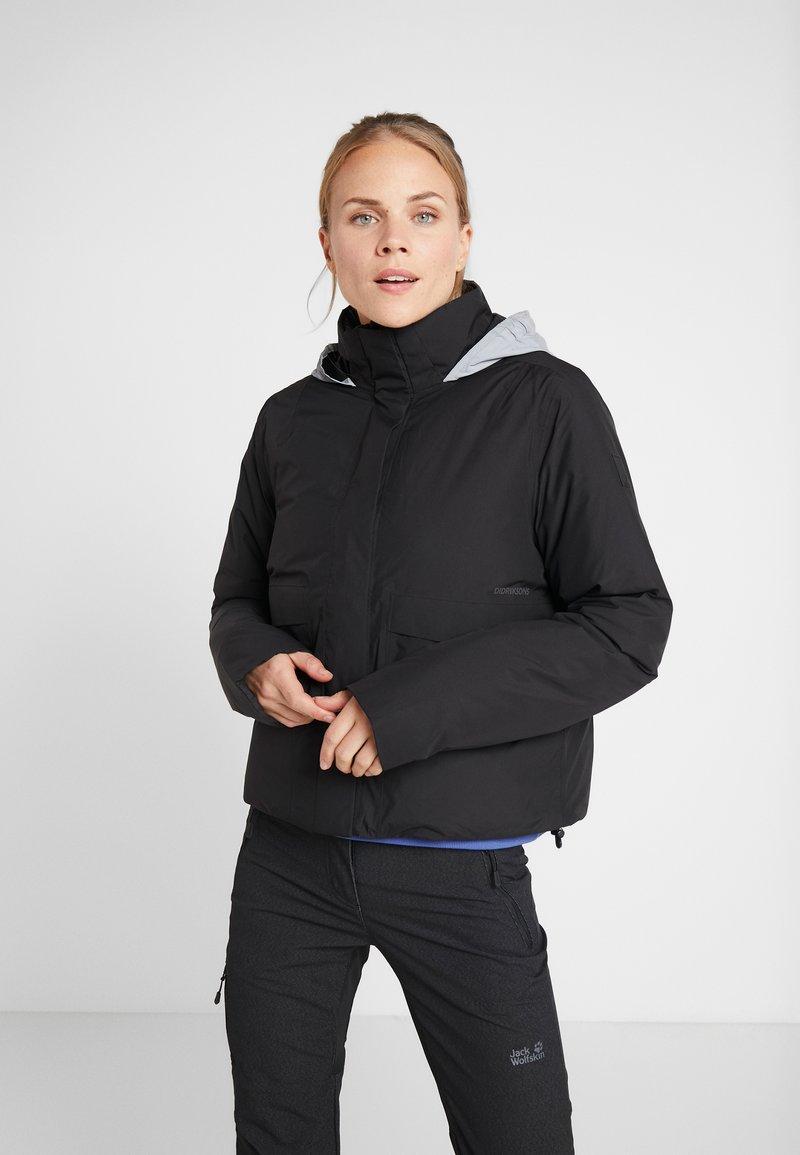 Didriksons - KIM WOMENS JACKET - Winter jacket - black