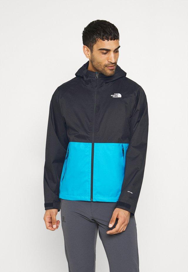 Outdoor jacket - blue/black