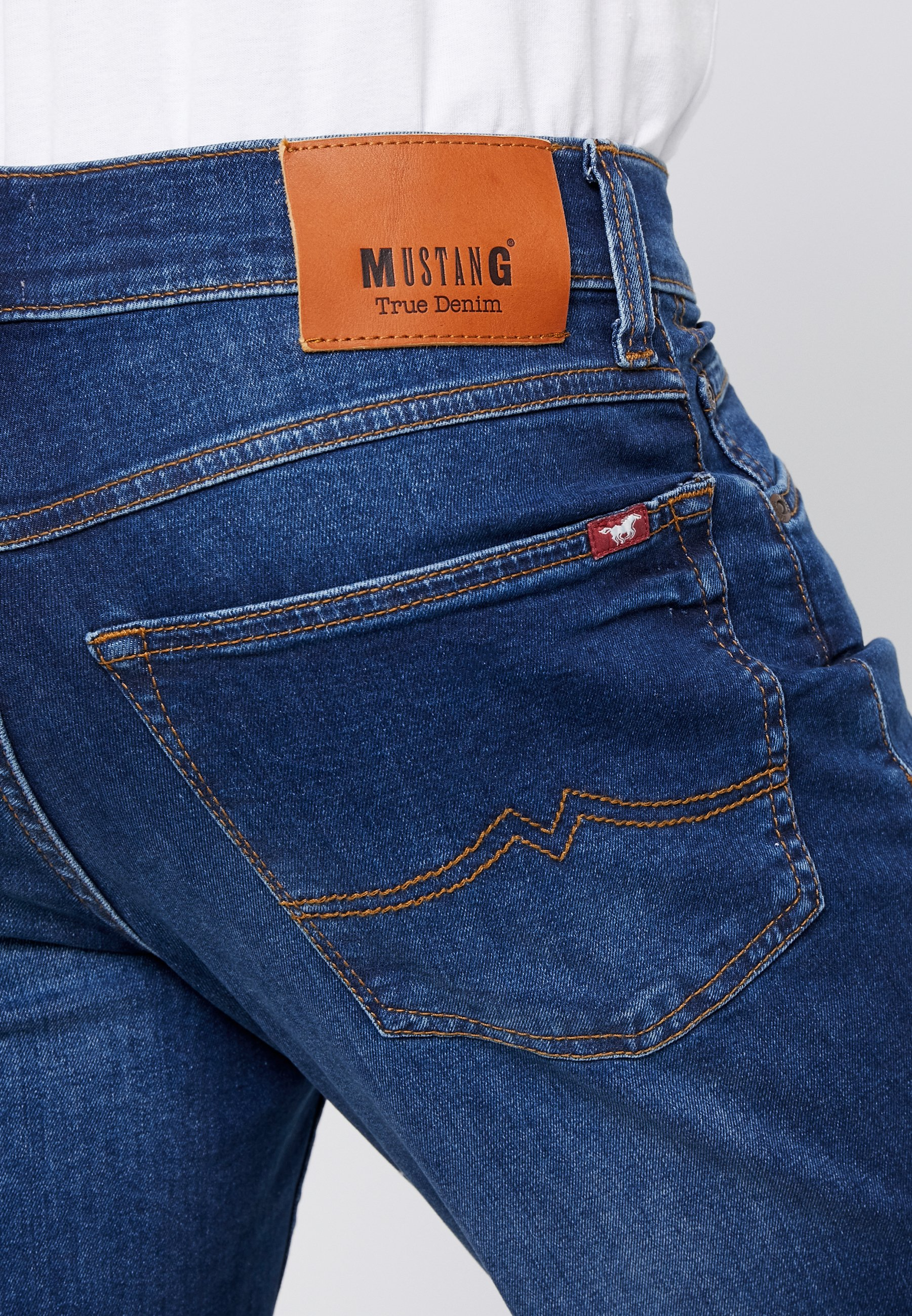 BIG SUR Jeans Straight Leg blue denim